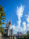 Cinderella Castle magiskt kungarike Arkivfoton