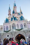 Cinderella Castle no reino mágico, Walt Disney World Fotos de Stock Royalty Free
