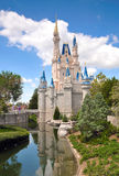 Cinderella Castle - Orlando, FL. Stock Images