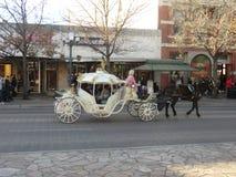 Cinderella chariot in San Antonio. Cinderella chariot in San Antonio, Texas Stock Photography