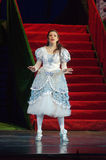 Cinderella. DNIPRO, UKRAINE - JANUARY 5, 2017: Musical play Cinderella performed by members of the Dnipro Opera and Ballet Theatre stock photo