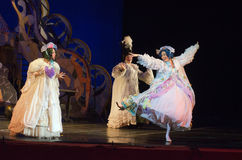 Cinderella. DNIPRO, UKRAINE - JANUARY 5, 2017: Musical play Cinderella performed by members of the Dnipro Opera and Ballet Theatre stock photos