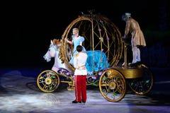 Cinderella e príncipe Fotografia de Stock Royalty Free