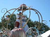 Cinderella e principe Fotografia Stock