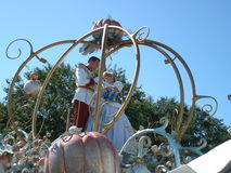 Cinderella en Prins Stock Fotografie
