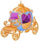 Cinderella Fairy Tale Carriage stock de ilustración