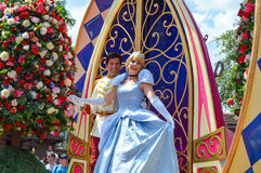 Cinderella from the Festival of Fantasy Parade Royalty Free Stock Image