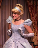 Cinderella greets her fans. Stock Photo