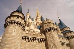 Cinderella kasztel obraz royalty free