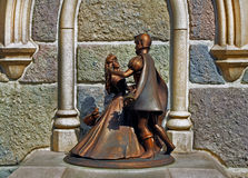 Cinderella and prince charming Stock Images