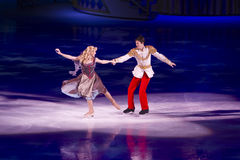 Cinderella and Prince Charming Disney On Ice Stock Image