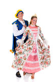 Cinderella and prince, Halloween Stock Photos