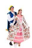 Cinderella and prince, Halloween Stock Photos