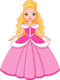 Little Princess Cinderella Royalty Free Stock Photos