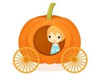 Cinderella Pumpkin Image libre de droits