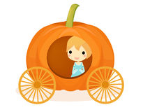 Cinderella pumpkin Royalty Free Stock Image
