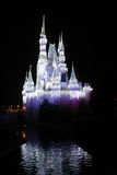 Cinderella's Castle, Christmas 2015 Royalty Free Stock Photo