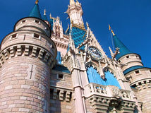 Cinderella's Castle Stock Photo