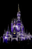 Cinderella's Castle - Decorated for Christmas Royalty Free Stock Photos