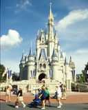 Cinderella's Castle in Disney Magic Kingdom Royalty Free Stock Photos