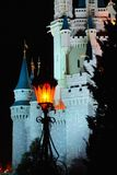 Cinderella's Castle at Walt Disney World Stock Images