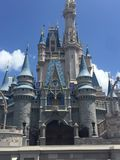 Disney Castle royalty free stock photos