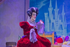 Cinderella's Mean Wicked Stepmother Royalty Free Stock Photos