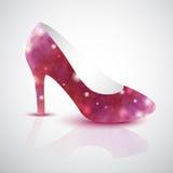 Cinderella shoe  Stock Images