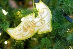Cinderella shoe Royalty Free Stock Photography
