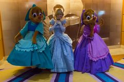 Cinderella, Suzy και Perla Στοκ εικόνα με δικαίωμα ελεύθερης χρήσης