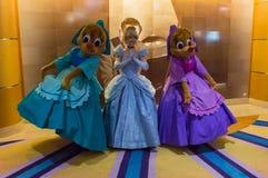 Cinderella, Suzy και Perla Στοκ φωτογραφία με δικαίωμα ελεύθερης χρήσης