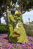 Disney World Topiary. An image of a topiary taken in March 2013, during the 20th anniversary of the Epcot Flower Show, at Disney World Stock Images