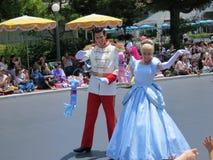 Cinderella y el príncipe Imagen de archivo libre de regalías