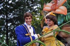 Cinderella y príncipe el encantar Fotografía de archivo