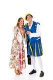 Cinderella y príncipe, Víspera de Todos los Santos Fotografía de archivo libre de regalías