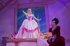 Cinderellas klänning och styvmor Royaltyfria Bilder