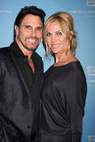 Cindy Ambuehl,Don Diamont Royalty Free Stock Photo