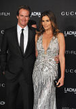 Cindy Crawford et Rande Gerber Images stock