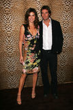 Cindy Crawford and husband Rande Gerber Royalty Free Stock Photography