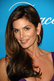 Cindy Crawford, Jerry Weintraub Imagem de Stock Royalty Free