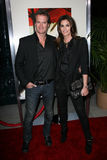 Cindy Crawford, Rande Gerber. Rande Gerber and Cindy Crawford  at The Descendants Premiere, Academy of Motion Picture Arts and Sciences,  Los Angeles, CA 11-15 Royalty Free Stock Images