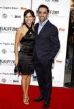 Cindy Iglesias und Francesco Quinn Lizenzfreies Stockfoto
