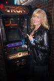 Cindy Morgan. At the TRON Legacy & MySpace Comi-Tron Party, Flynn's Arcade, San Diego, CA 07-23-10 Royalty Free Stock Photos