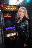 "Cindy Morgan. At the TRON Legacy"" & MySpace Comi-Tron Party, Flynn's Arcade, San Diego, CA 07-23-10 Stock Photo"