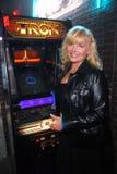 "Cindy Morgan. At the TRON Legacy"" & MySpace Comi-Tron Party, Flynn's Arcade, San Diego, CA 07-23-10 Stock Photography"