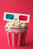 cine 3D Foto de archivo libre de regalías