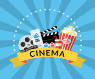cine Imágenes de archivo libres de regalías