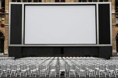 Cine al aire libre Fotos de archivo