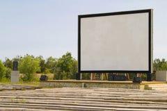 Cine al aire libre Foto de archivo libre de regalías