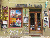 Cine alternativo en Berlín fotos de archivo